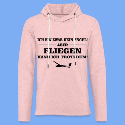 Segelflieger Geschenk Engel lustig Sweatshirt - Light Unisex Sweatshirt Hoodie