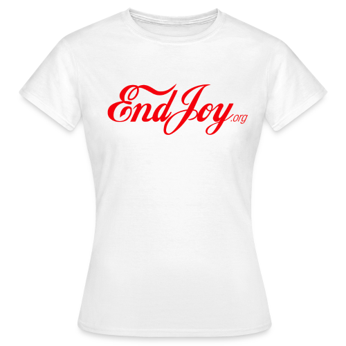 EndJoy Woman Shirt (red) - Frauen T-Shirt