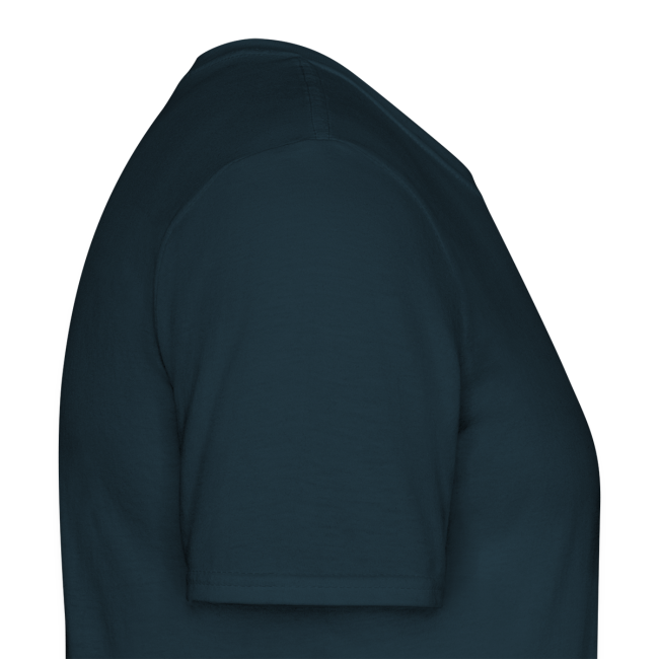 Männer T-Shirt Jedermann - Druck weiß/beige