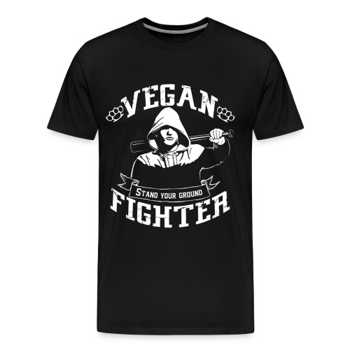 Vegan fighter shirt - T-shirt Premium Homme