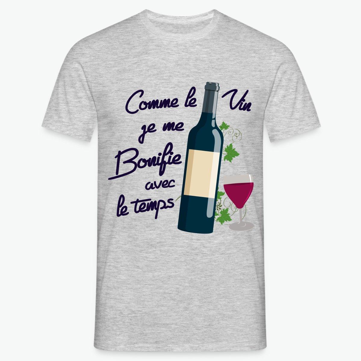 T Shirt Comme Le Vin Anniversaire T Shirt Homme Tshirt