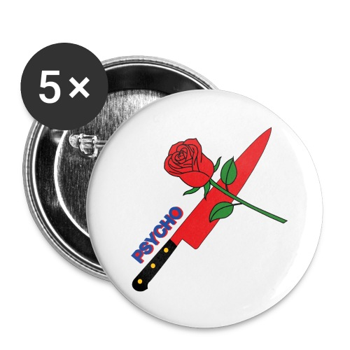 PSYCHO Buttons - Buttons small 25 mm