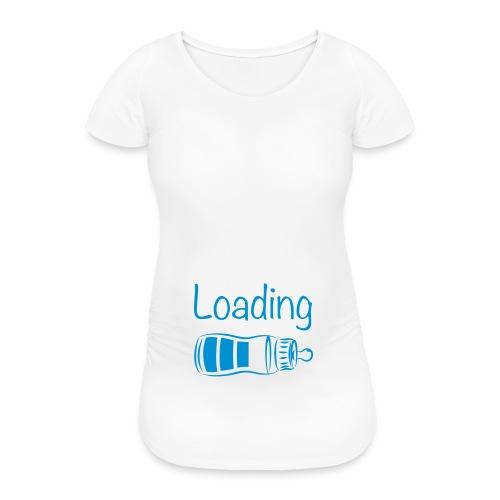 Zwangerschapsshirt: baby boy loading - Vrouwen zwangerschap-T-shirt