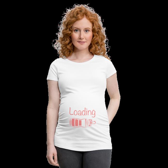 Zwangerschapsshirt: baby girl loading