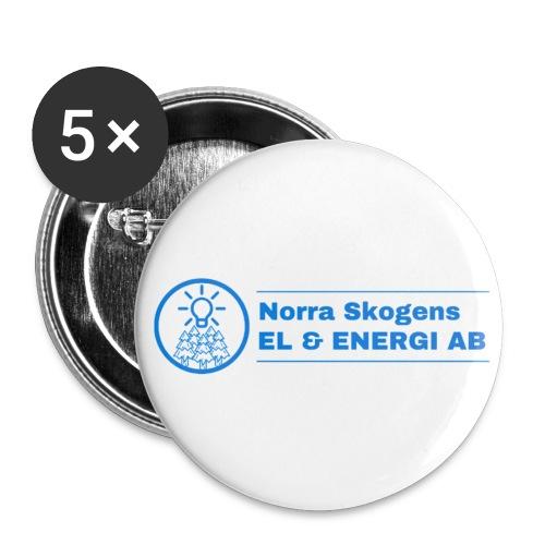 Knappar 5 pack (56 mm) - Stora knappar 56 mm