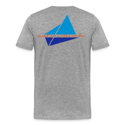 Crew-Shirt =AD=USUM= Grey/Männer - Männer Premium T-Shirt