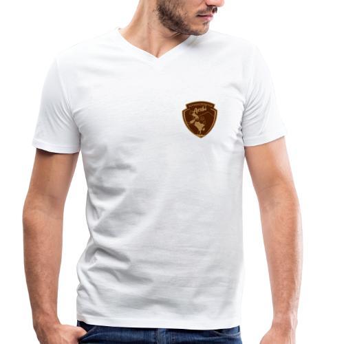 Männer Bio-T-Shirt mit V-Ausschnitt von Stanley & Stella - Männer Bio-T-Shirt mit V-Ausschnitt von Stanley & Stella