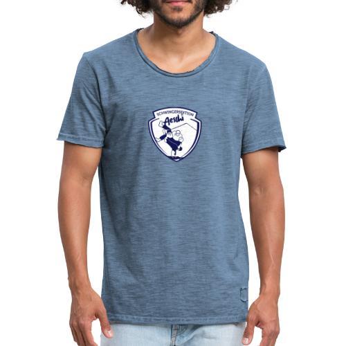 Männer Bio-T-Shirt mit V-Ausschnitt von Stanley & Stella - Männer Vintage T-Shirt