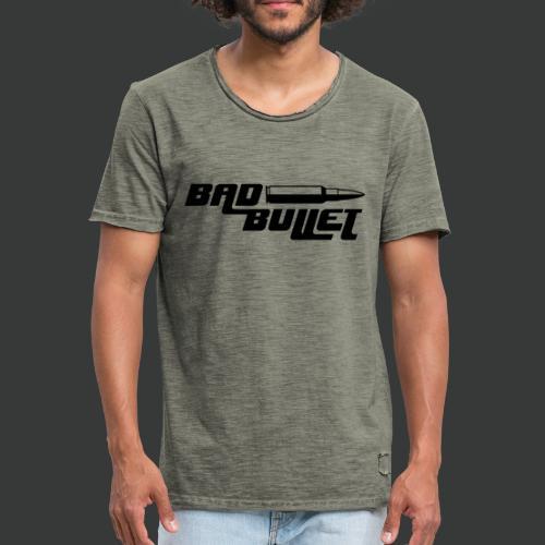 Bad Bullet - Vintage - Männer Vintage T-Shirt