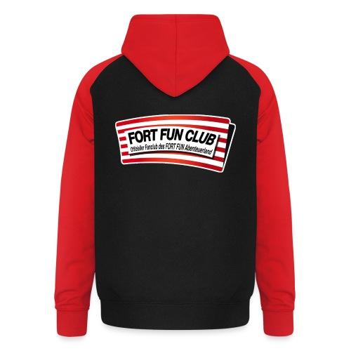 UNISEX - FORT FUN Club-Baseball-Hoodie - Unisex Baseball Hoodie