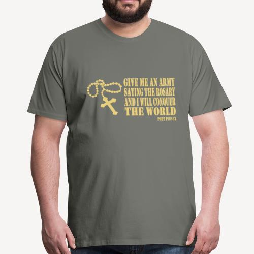 ROSARY ARMY - Men's Premium T-Shirt