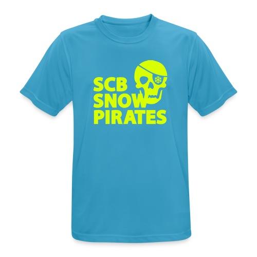 SCB Snow Pirates - Männer T-Shirt atmungsaktiv