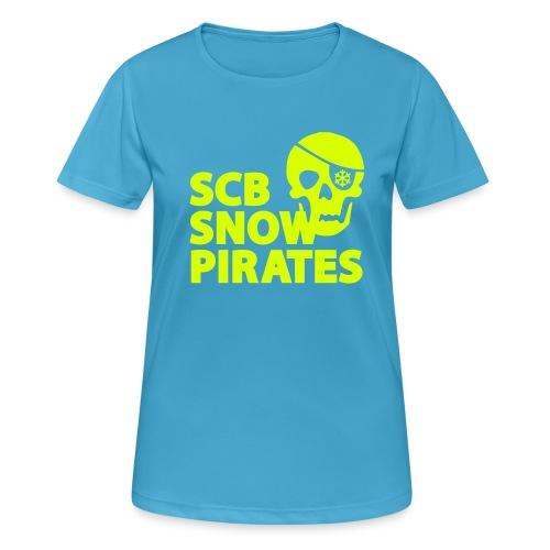 SCB Snow Pirates - Frauen T-Shirt atmungsaktiv