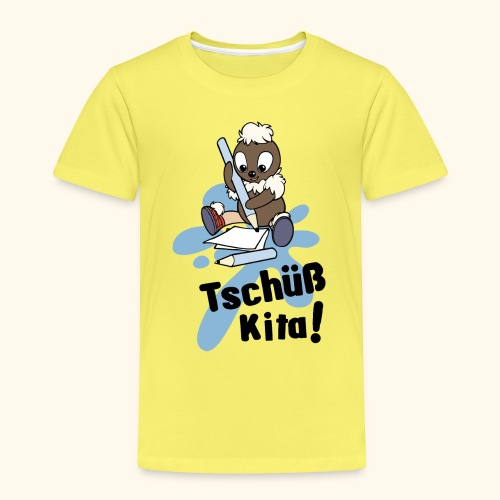 Pittiplatsch Tschüß Kita! Kinder Premium T-Shirt  - Kinder Premium T-Shirt