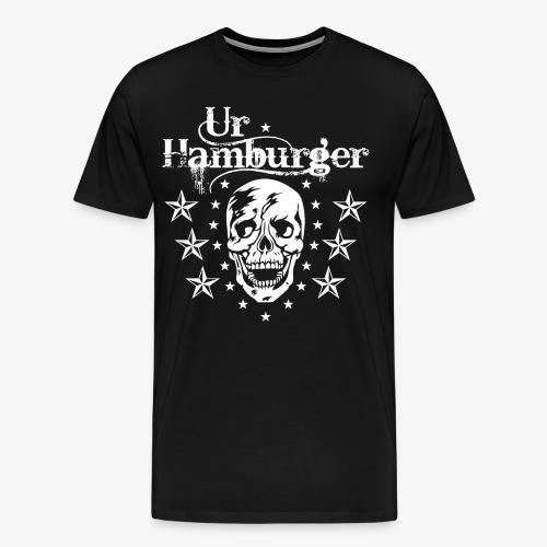 69 Ur-Hamburger Totenkopf Skull Männer T-Shirt - Männer Premium T-Shirt