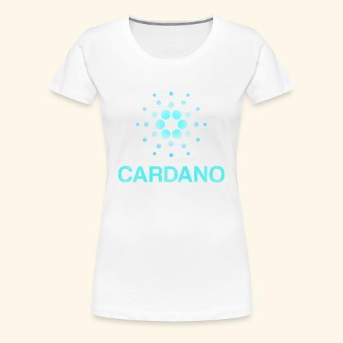 Cardano ADA Shirt Women - Frauen Premium T-Shirt