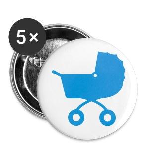 jongen button - Buttons groot 56 mm