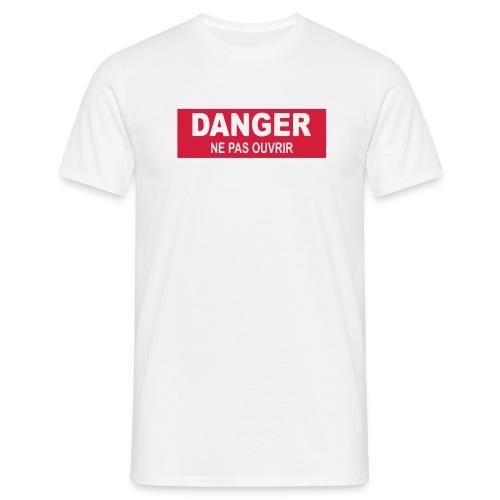 Tee-shirt Homme Danger - T-shirt Homme