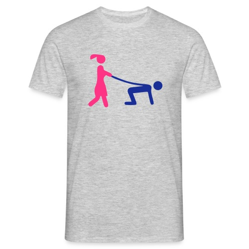 Tee-shirt Homme, homme tenue en laisse  - T-shirt Homme