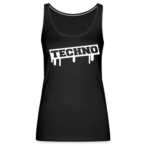 Techno Tank top for woman - Frauen Premium Tank Top