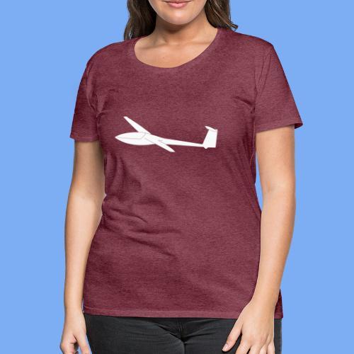 Segelflugzeug DG100 glider sailplane clothing apparel - Women's Premium T-Shirt