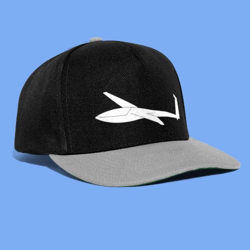 Segelflugzeug DG100 glider sailplane clothing apparel - Snapback Cap