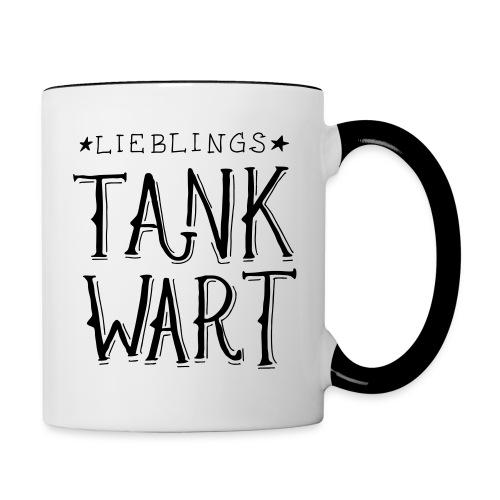 Lieblings Tankwart - Tasse zweifarbig