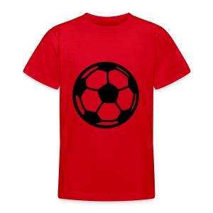 voetbal kindershirt (diverse kleuren) - Teenager T-shirt