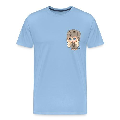 Dog Girl Man T-Shirt - Männer Premium T-Shirt