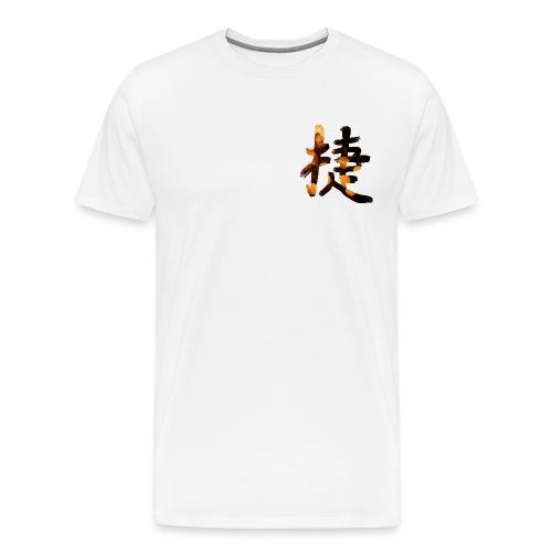Kanji Win Man T-Shirt - Männer Premium T-Shirt