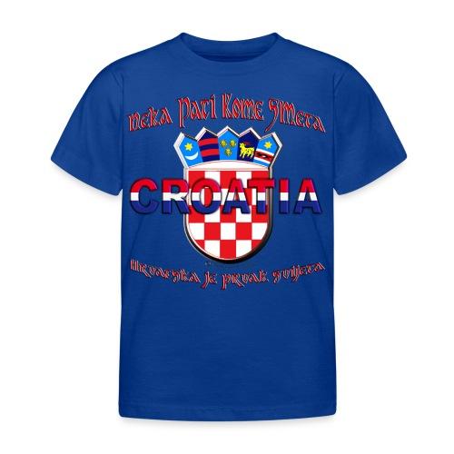 Hrvatska neka pati smeta prvak svijeta Croatia - Kinder T-Shirt