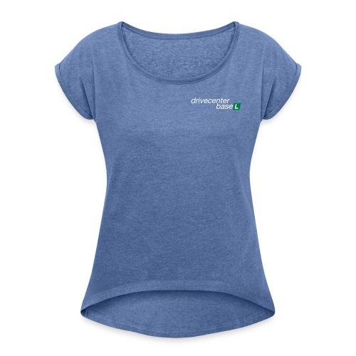 Frauen Shirt gerollte Ärmel - Frauen T-Shirt mit gerollten Ärmeln