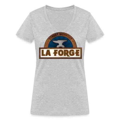 La Forge / T-shirt bio col V Stanley & Stella Femme - T-shirt bio col V Stanley & Stella Femme