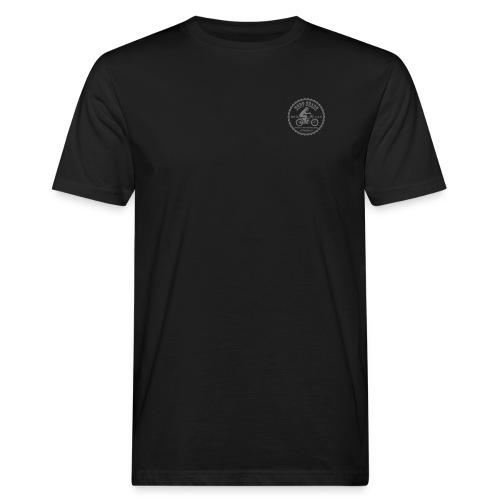 logo vorne u hinten - Männer Bio-T-Shirt