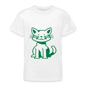 kindershirt poes diverse maten en kleuren - Teenager T-shirt