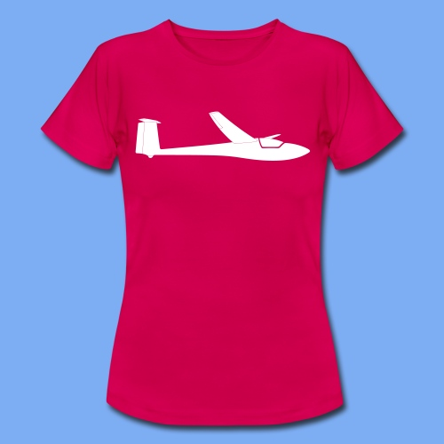 Segelflugzeug Club Libelle glider sailplane clothing apparel - Women's T-Shirt