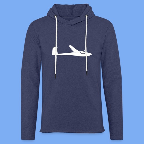 Segelflugzeug Club Libelle glider sailplane clothing apparel - Light Unisex Sweatshirt Hoodie