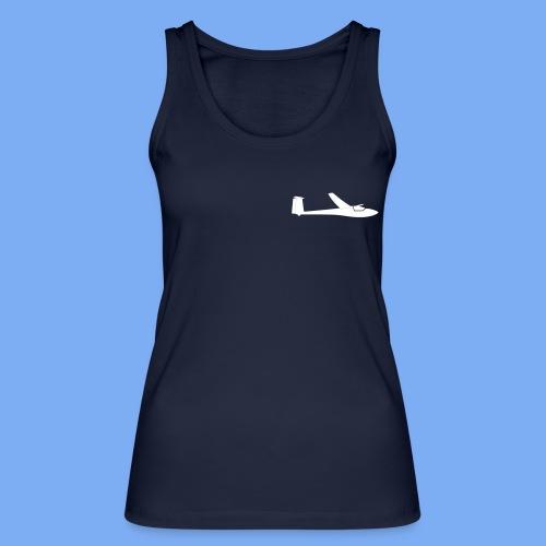 Segelflugzeug Club Libelle glider sailplane clothing apparel - Women's Organic Tank Top by Stanley & Stella