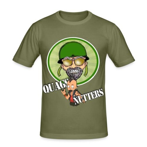 QUAG'S NUTTERS!! - Men's Slim Fit T-Shirt