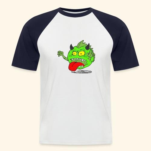 Wolf T - Kortærmet herre-baseballshirt