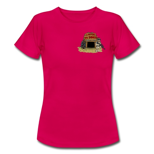 Le girly du Dingo - Petit logo face - Women's T-Shirt