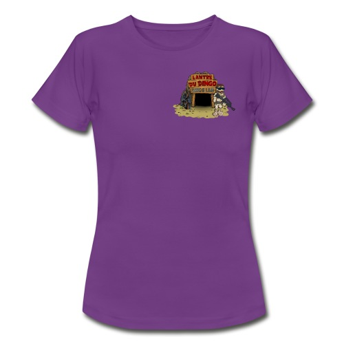 Le girly du Dingo - Petit logo face - T-shirt Femme