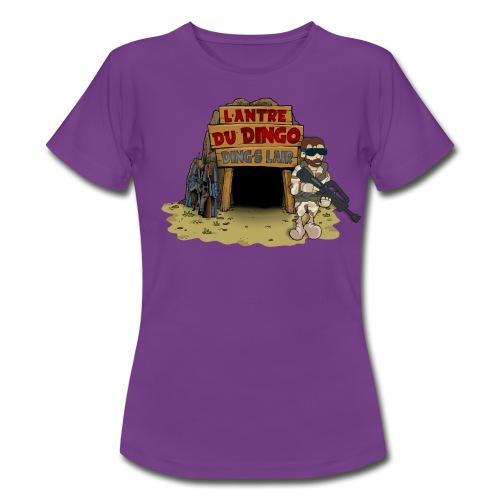 Le girly du Dingo - Grand logo face - T-shirt Femme