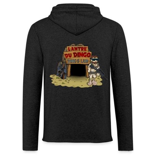 Hoodie light du Dingo - Sweat-shirt à capuche léger unisexe