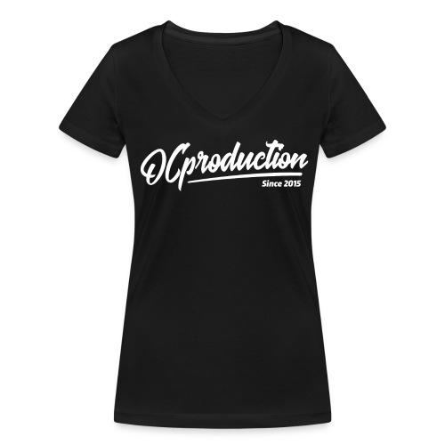 Clasique OC Femme - Noir - T-shirt bio col V Stanley & Stella Femme