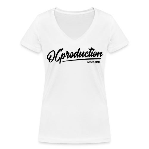 Classique OC Blanc - Femme  - T-shirt bio col V Stanley & Stella Femme