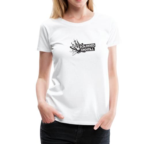 NEW Scarred Digital Ladies T-Shirt - Women's Premium T-Shirt