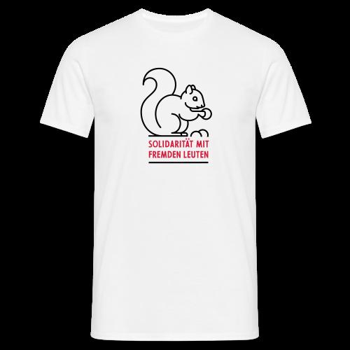 Solidarität mit fremden Leuten - Männer T-Shirt