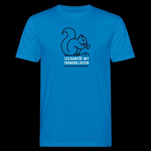 Solidarität mit fremden Leuten - Männer Bio-T-Shirt