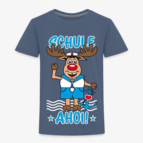 Schule Ahoi Hirsch Rudi Matrose Anker T-Shirt 09 - Kinder Premium T-Shirt